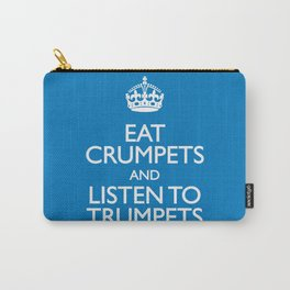 Crumpets & Trumpets Carry-All Pouch