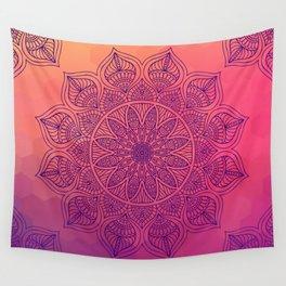 Happy Mandala Wall Tapestry