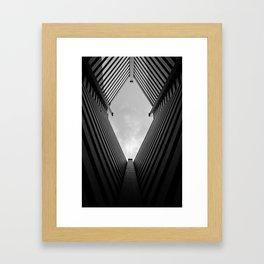 Diamond in the Sky Framed Art Print