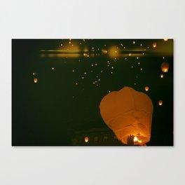 Lamps, II Canvas Print