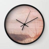 Love at the Beach Wall Clock