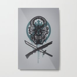 Dead Men Walking Metal Print