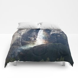 Bridalveil Falls, Yosemite California Comforters