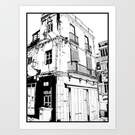 tarragona Art Print