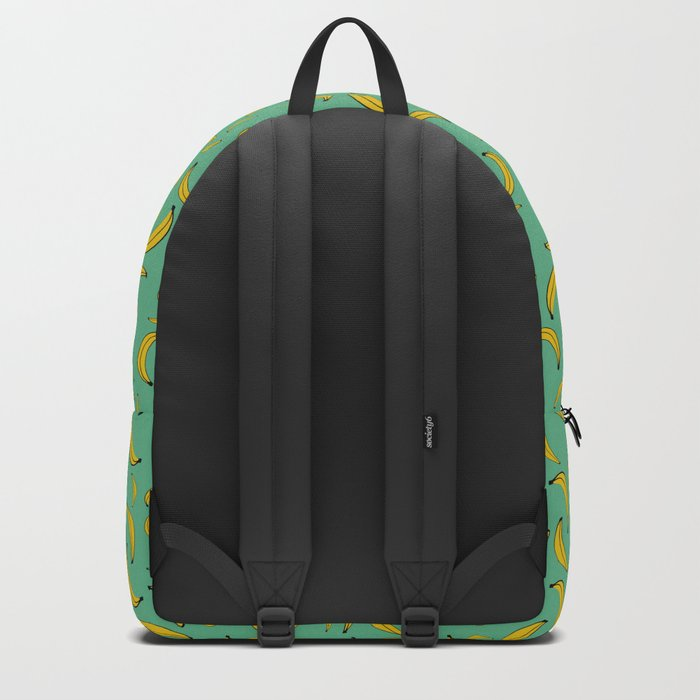 Sea of bananas Green Backpack