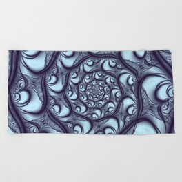 Fractal Web Beach Towel
