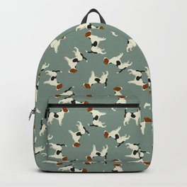 Jack Russell Green Bay Backpack