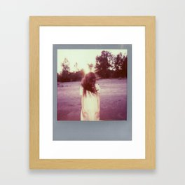 Jacs Fishburne - Impossible Project Polaroid 2  Framed Art Print