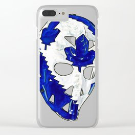 Palmateer - Mask 2 Clear iPhone Case