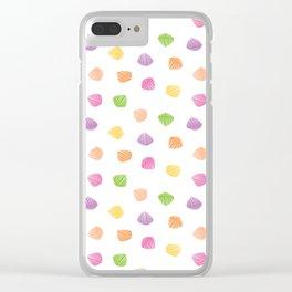 Colorful berlingots Clear iPhone Case