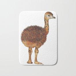 Fluffy Emu Chick Bath Mat