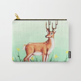 Spring Deer Carry-All Pouch