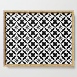 optical pattern 29 Serving Tray