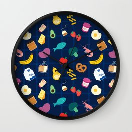Groceries Wall Clock
