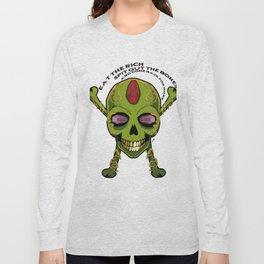 Skullet Eat The Rich Long Sleeve T-shirt