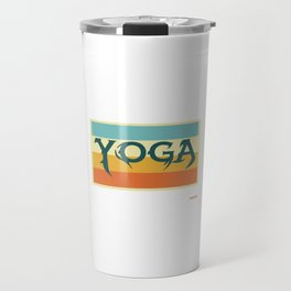 Yoga meditation relaxation ommm Soul Sports Gift Travel Mug