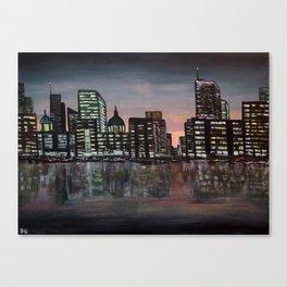 City Skyline - Acrylic Canvas Print