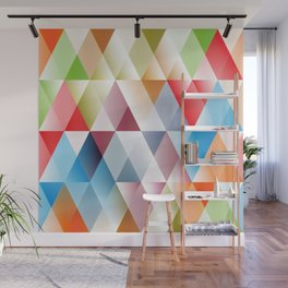 Triangles #1 Wall Mural