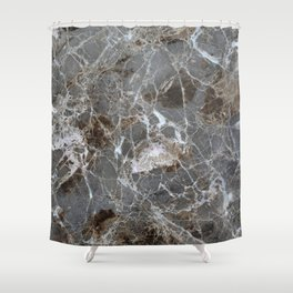 Marble Stone Vintage Marble lover Gift Shower Curtain