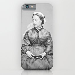 Emma, Queen of Hawaii Vintage Photograph iPhone Case