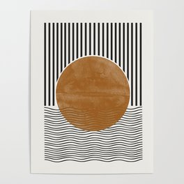 Abstract Modern Poster Poster