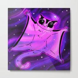Galaxy Glider Metal Print