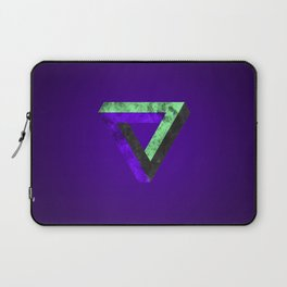 The infinity triangle inverted Laptop Sleeve