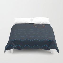 La Mer (Nuit) Seascape Duvet Cover