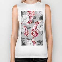 Flora temptation - twilight Biker Tank