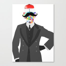 The Candy Dandy Canvas Print