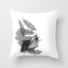 Birdster Throw Pillow