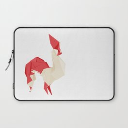 Origami Rooster Laptop Sleeve