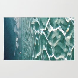 Sailing Ocean Blues Rug