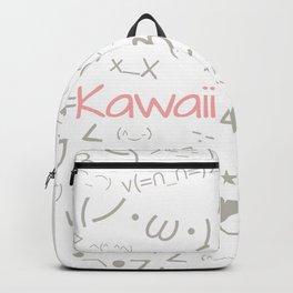 Super Cute Kawaii Emoji Pattern Backpack