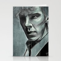 cumberbatch Stationery Cards featuring Benedict Cumberbatch by Schwebewesen • Romina Lutz