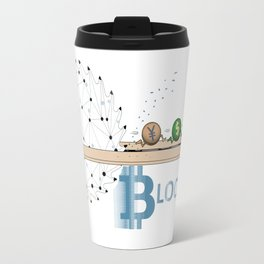 BLOCKCHAIN Travel Mug