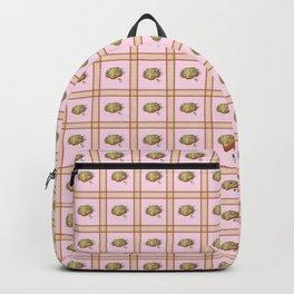 Bearded Dragon Plaid Backpack