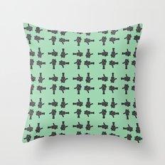 camera 02 pattern Throw Pillow