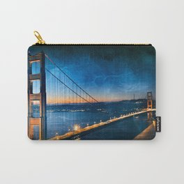 Golden Gate Ghost Bridge Carry-All Pouch