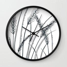 Blades of grass Wall Clock
