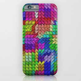 sweeping pattern 01 iPhone Case