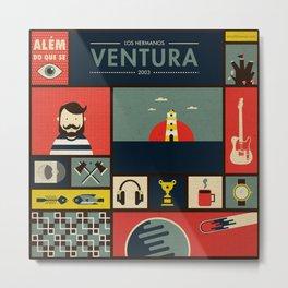 """""""Ventura"""" -  Los Hermanos Metal Print"""