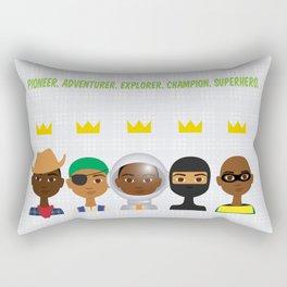 Little bro Rectangular Pillow