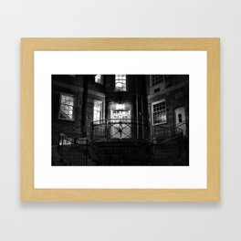 Green Hall 4am Framed Art Print