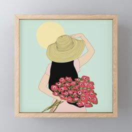 Looking for a friend Framed Mini Art Print