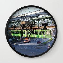 Wuppertaler Schwebebahn 2016 - Wuppertaler Zoo Wall Clock