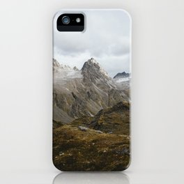 Hatcher Pass, Alaska iPhone Case