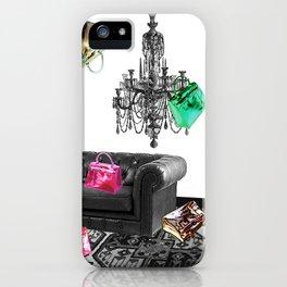 Handbag Party iPhone Case