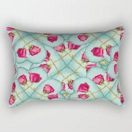 Love Motif Pattern Print Rectangular Pillow