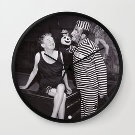 Wanna Come Over to My Place? Wall Clock